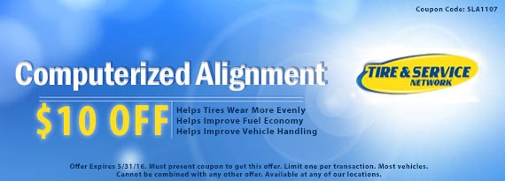 Wheel Alignment Coupon in Belleville, ON and Cornwall, ON