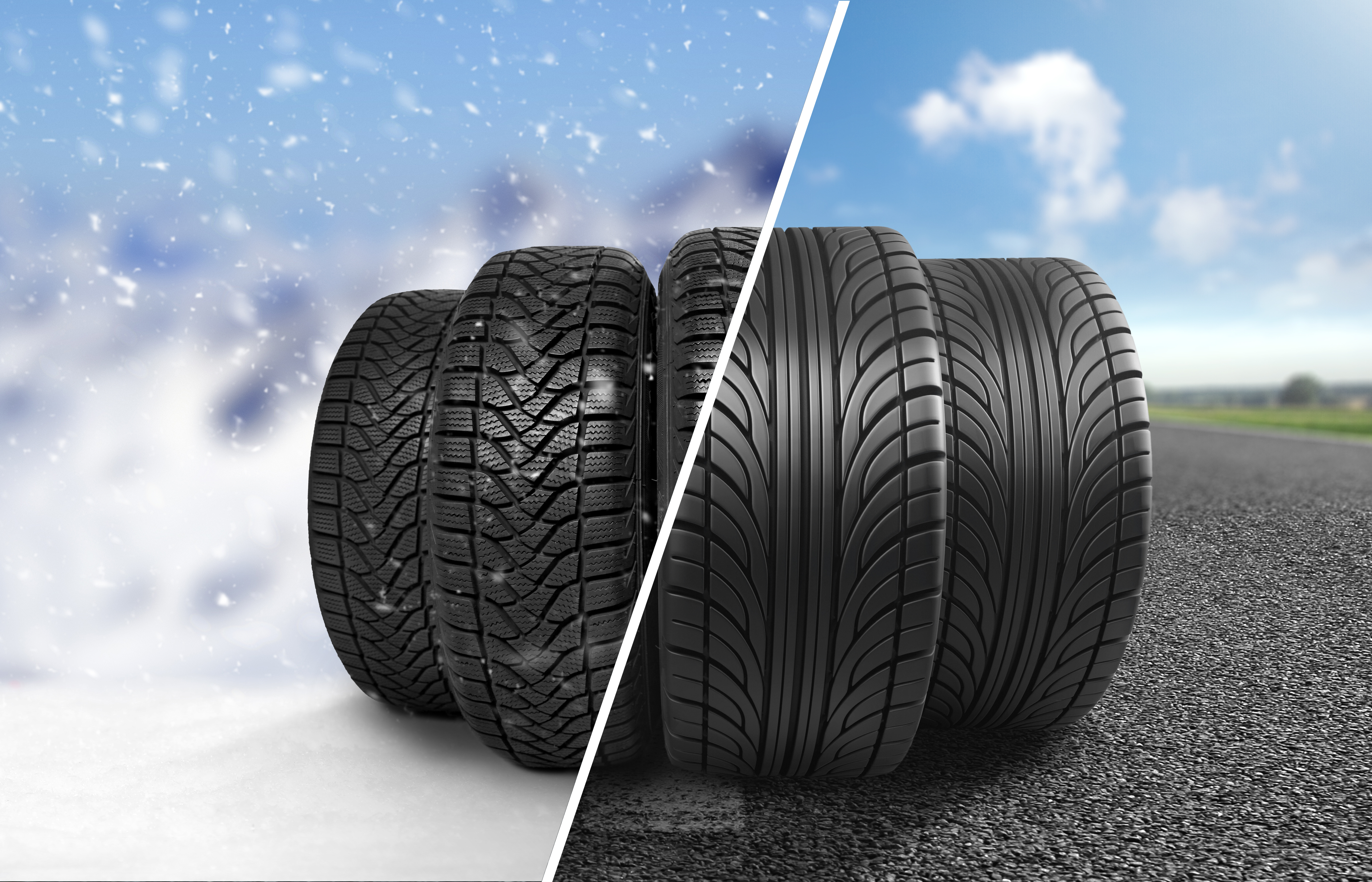 Snow Tires On Front Wheel Drive Car, How Are Winter Tires Different From All Season Tires, Snow Tires On Front Wheel Drive Car